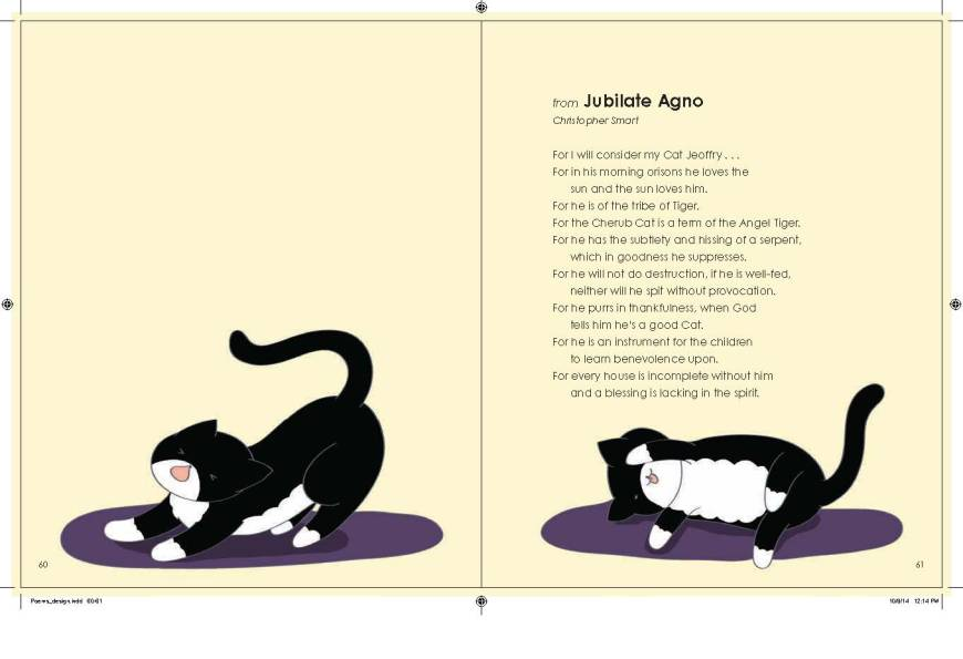 Poems about Cats pgs. 60 and 61