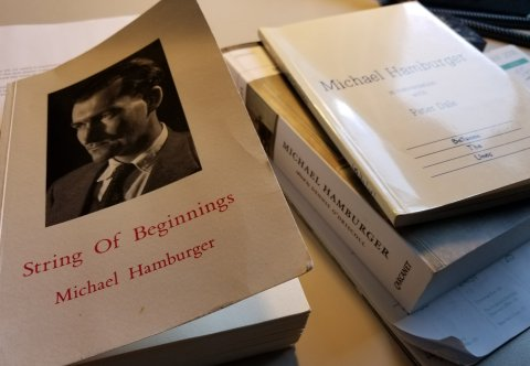 String Of Beginnings Michael Hamburgers Autobiography